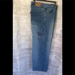 Snoop Dogg Mens Jeans Baggy Hip Hop Medium Wash